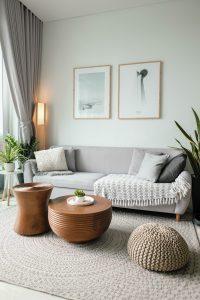 chunky woven area rug